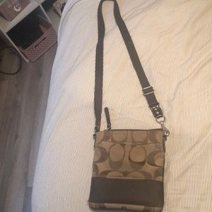 Coach Bags - Authentic COACH crossbody bag and keychain wallet
